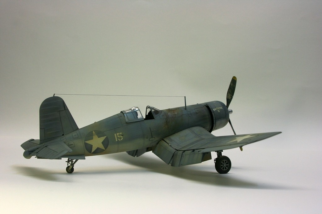 F4u-1 Corsair Birdcage VMF-213 Tamiya 1/48 4gniNV