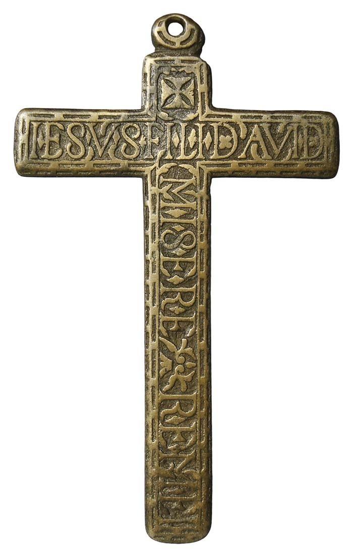 Cruz pectoral con  Arma Christi. S-XVII -  CC-082  - [Pec039/S-XVII]* Wj9ZbA