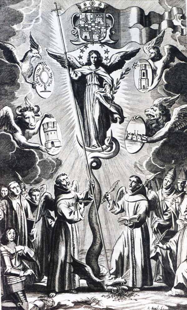 Virgen Maria Inmaculada / San José (R.M. SXIX-O53) ORC182