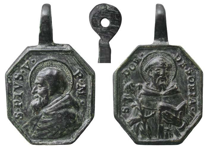 Proyecto recopilación medallas Santo Domingo de Guzmán  B91514