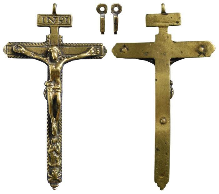 Crucifijo pectoral Inmaculada . S-XVII -  CC-074 - [Pec036/S-XVII]*  BfR80d