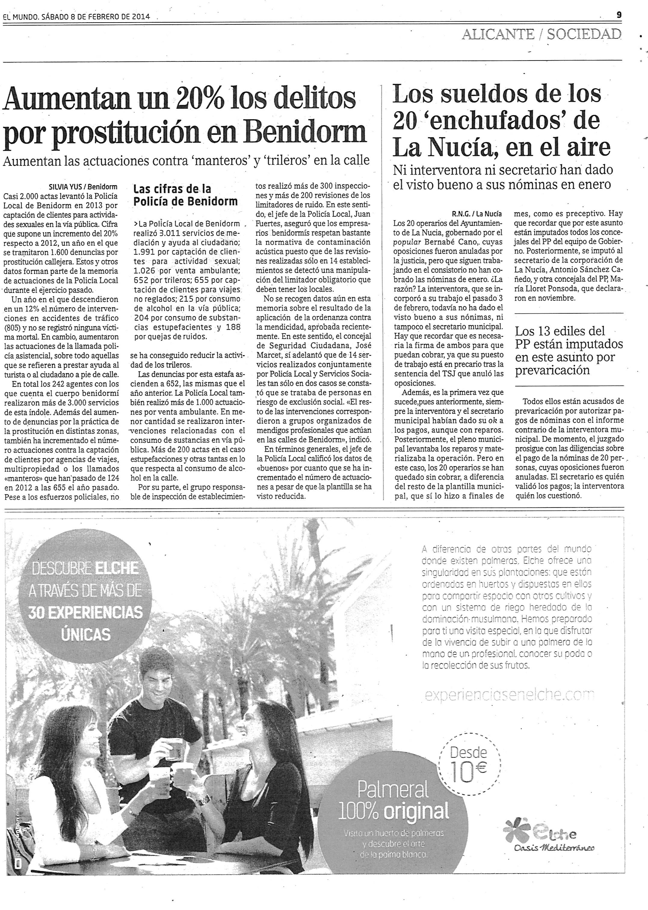 COMO SALIO EN EL MUNDO 8 FEBRERO 2014 J48l