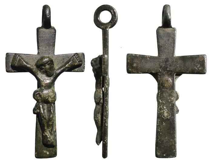 Crucifijo pectoral - CC075 Dpxi