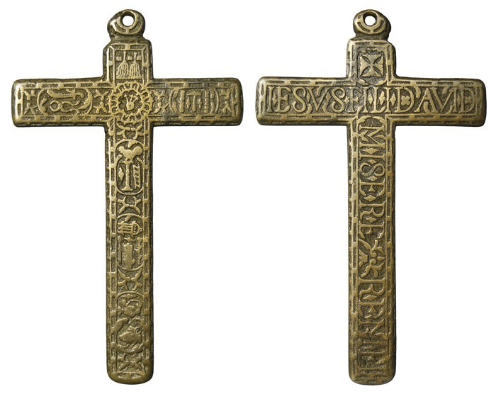 Cruz pectoral con  Arma Christi. S-XVII -  CC-082  - [Pec039/S-XVII]* OZdIHn