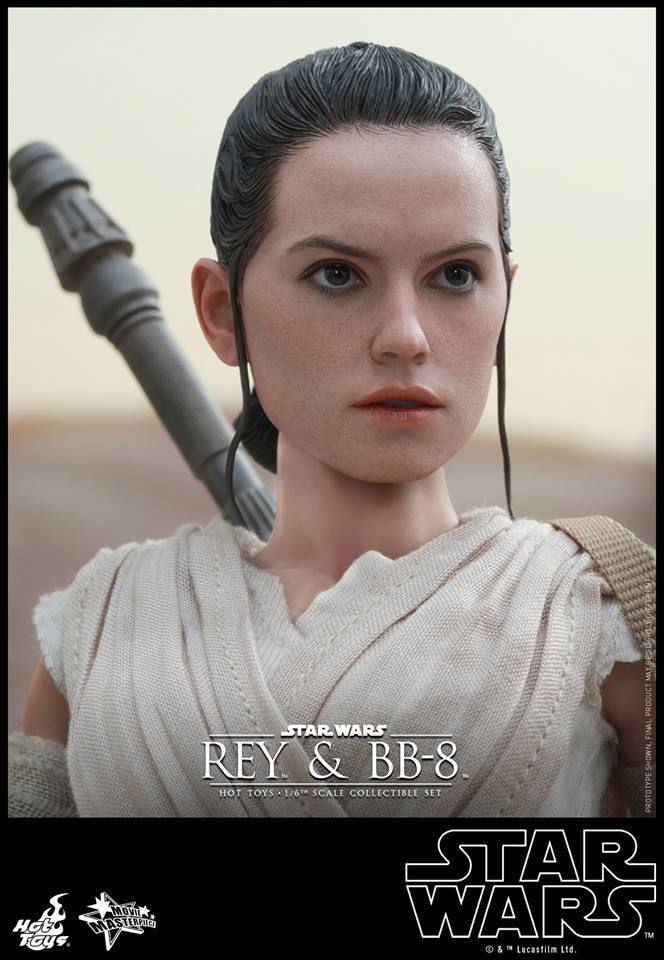 HOT TOYS-Star Wars TFA-Rey & BB8 Set HhmO2B