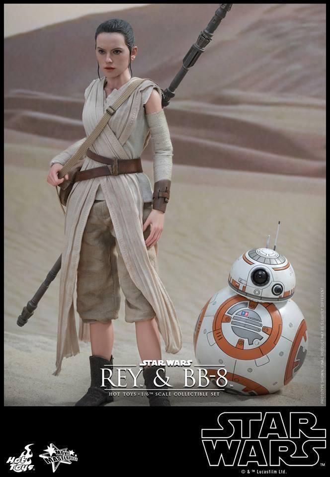 HOT TOYS-Star Wars TFA-Rey & BB8 Set JvZCfa
