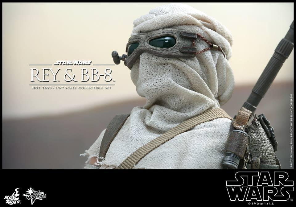 HOT TOYS-Star Wars TFA-Rey & BB8 Set YoReWr