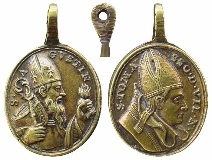 San Agustin / Santo Tomás de Villanueva - MR(417) (R.M. SXVIII-O247) Q0rz9p