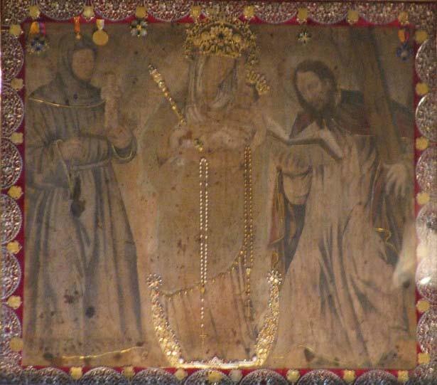 N. S. del Rosario de Chiquinquirá / Sagrados Corazones de Jesús y Maria - MR(405) (RM.SXVIII-C87)  Zk4J78