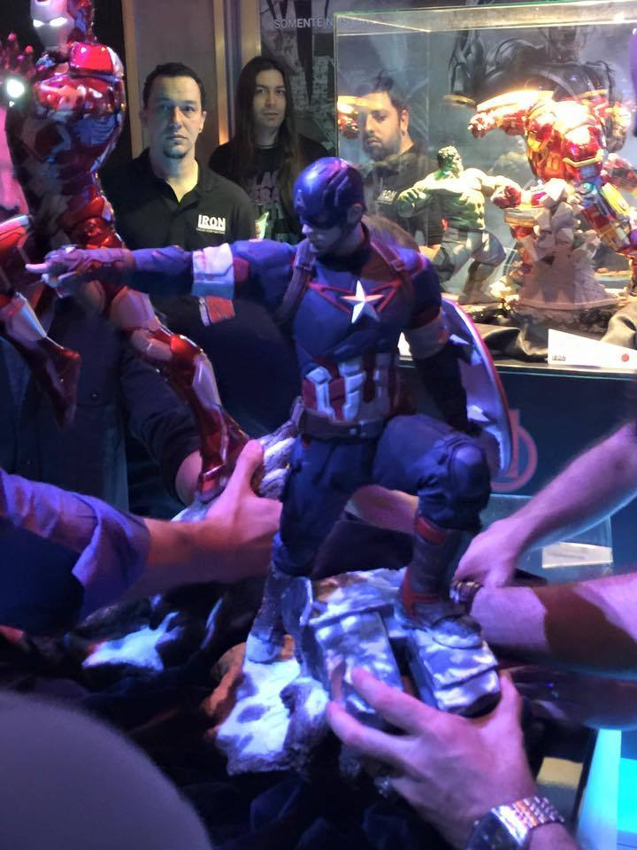 IRON STUDIOS: CAPTAIN AMERICA AVENGERS AGE OF ULTRON LEGACY 1/4 SCALE Vkqd50