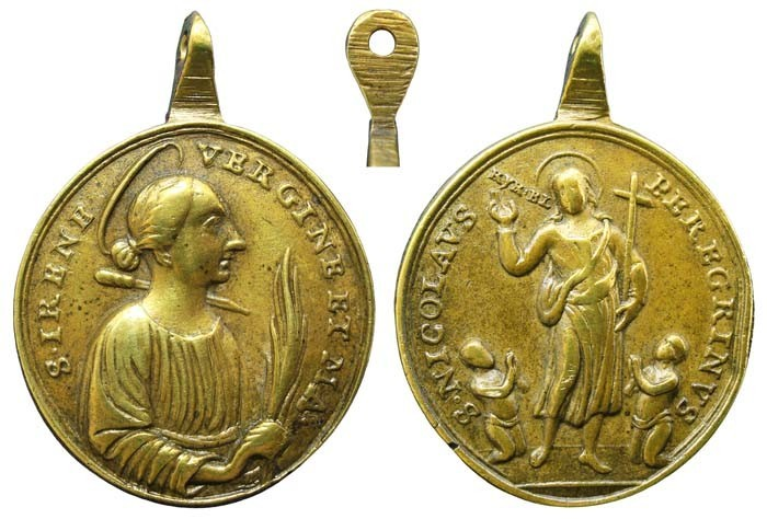 Santa Irene de Tesalónica / San Nicolás el Peregrino - MR(416) (R.M. SXVIII-O245) 7BoSTO