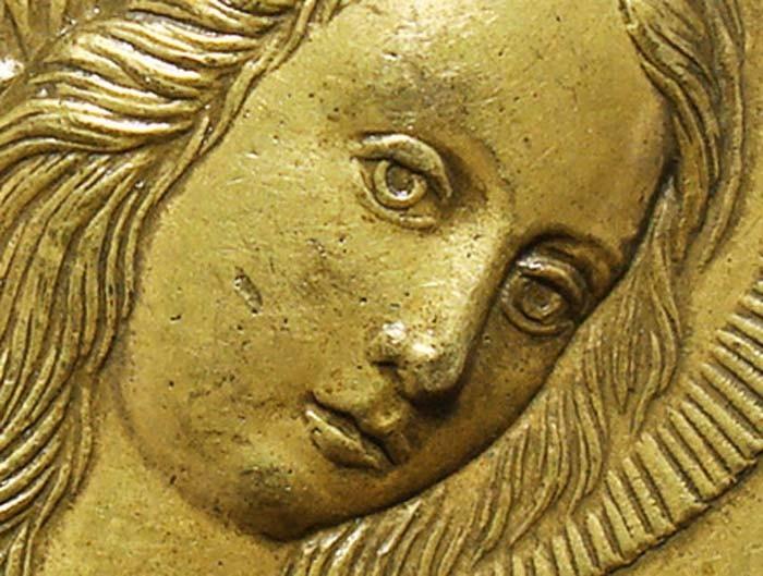 Nuestra Señora de la Misericordia / Crucifixión y santos jesuitas - MR(410)(R.M. SXVIII-O244) XkePfU
