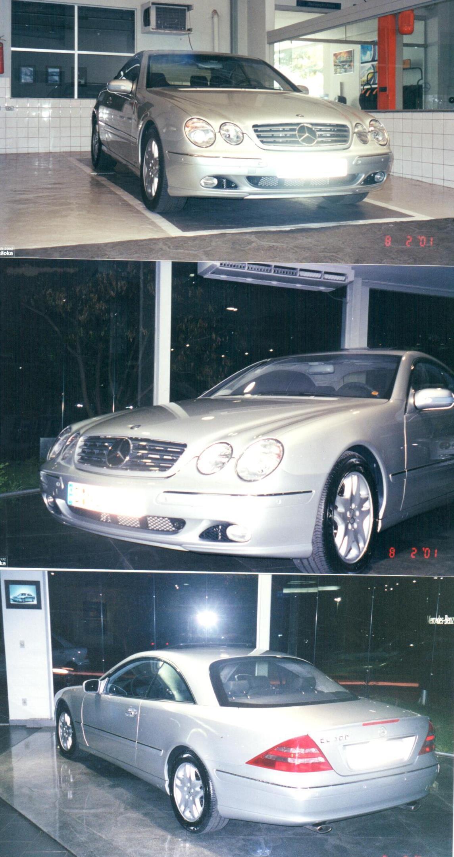 C215 CL600 2000/2001 - R$ 149.000,00 V4mo