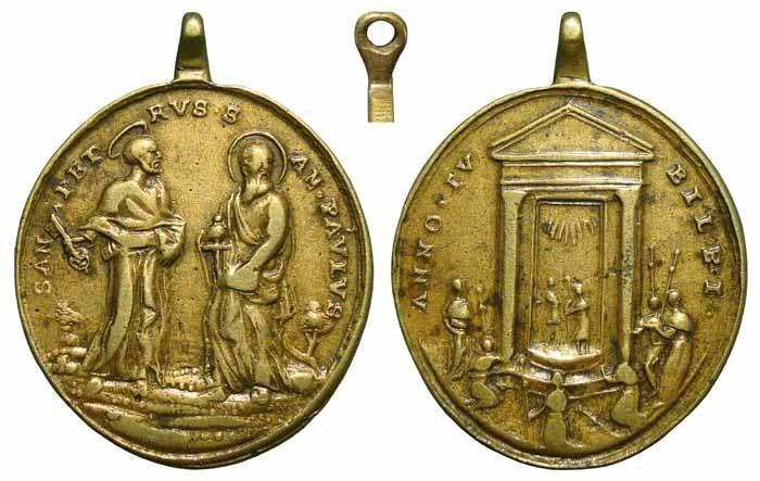jubileo - Jubileo Romano - San pedro y San Pablo MR(369) (R.M. SXVIII-O229) 8wxt