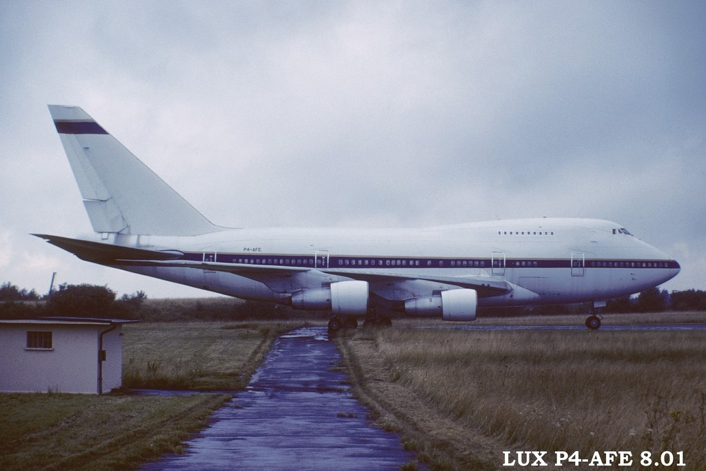 LUX-related B747s X5jo