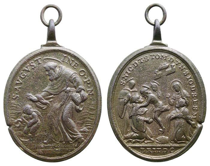 San Agustín / Santos agustinos - MR(391) (R.M. SXVII-O325) Xp2f