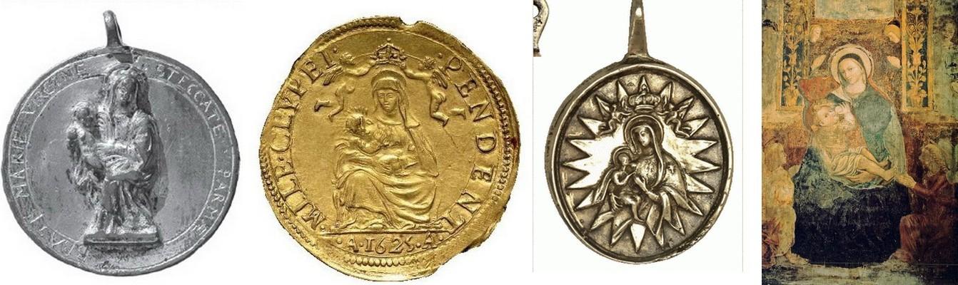 S. Carlos Borromeo / Virgen de la Leche S. XVIII (R.M. SXVIII-O223) 8tk8