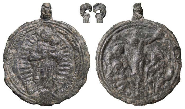 Inmaculada Concepción / Jesucristo crucificado - MR(387) (RM. SXVI-C10) 6ey7
