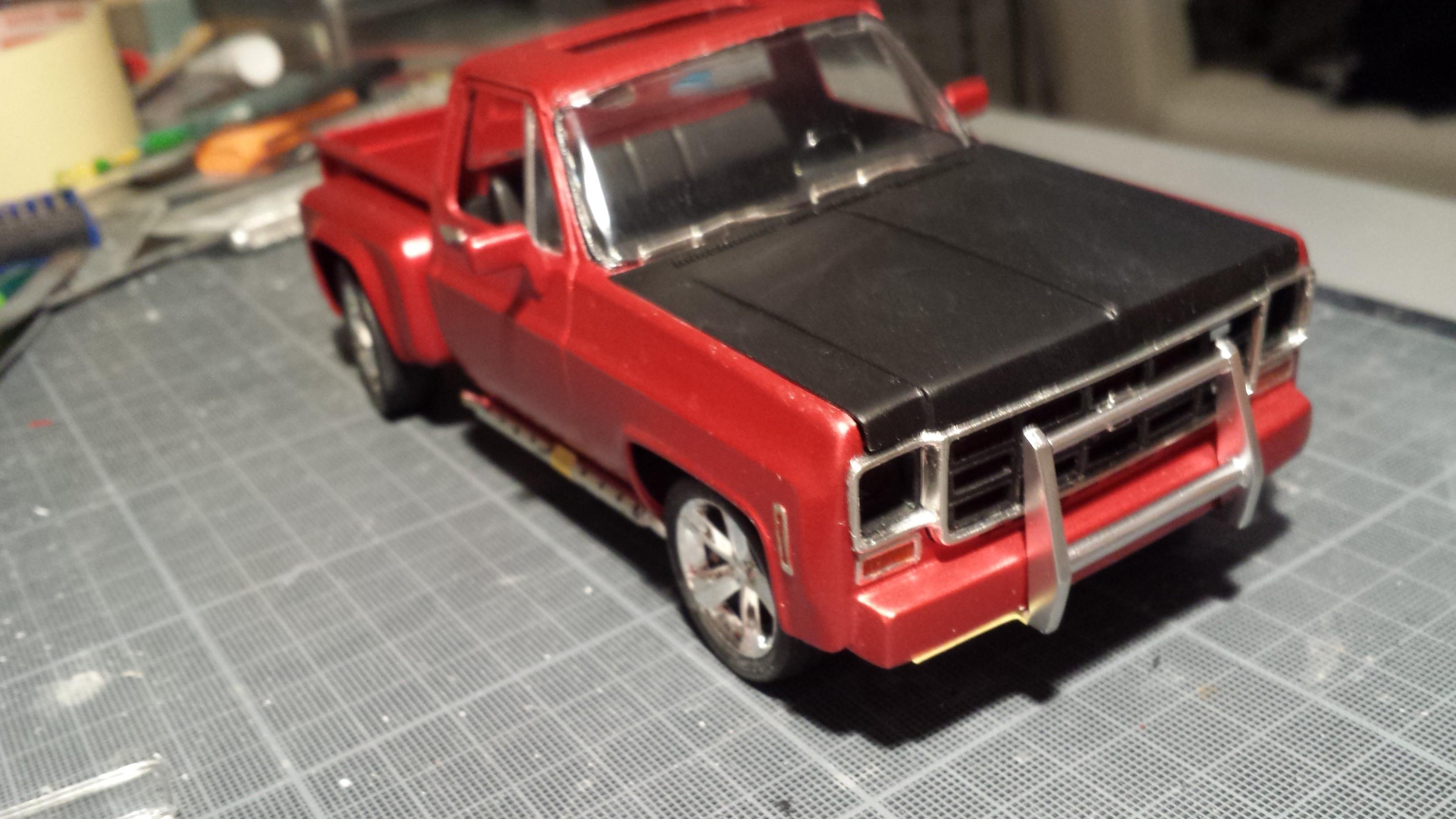 chevy 350 V8 street pick-up 1kyo