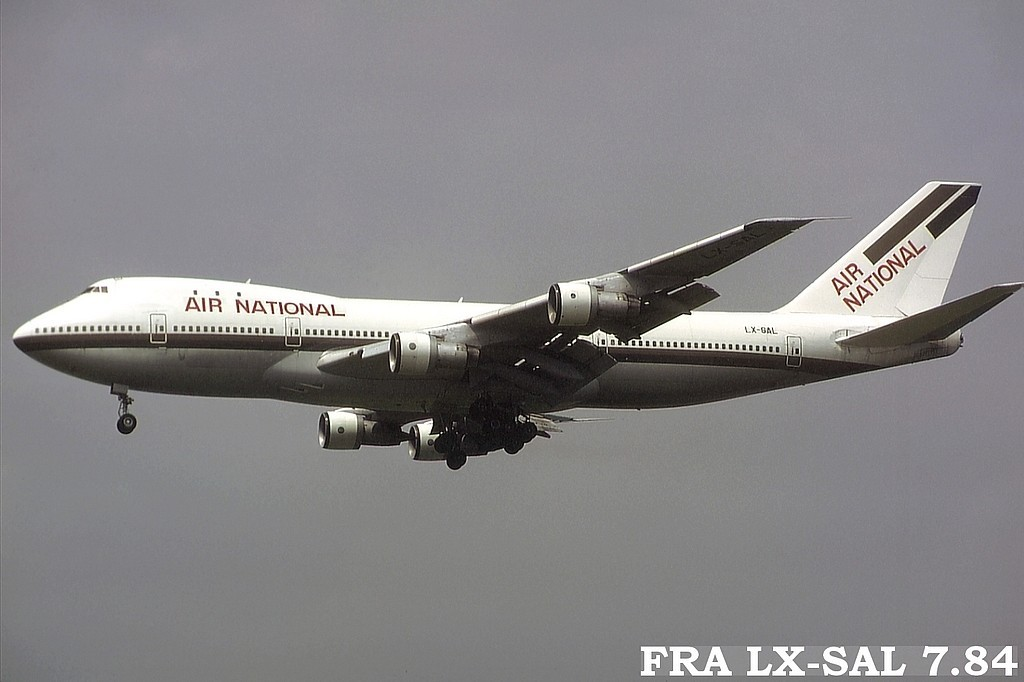 LUX-related B747s N7g5