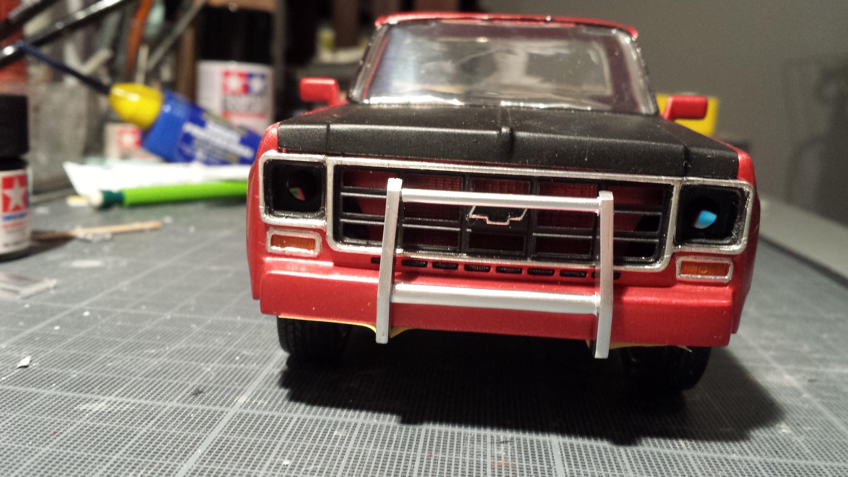 chevy 350 V8 street pick-up 1k3d