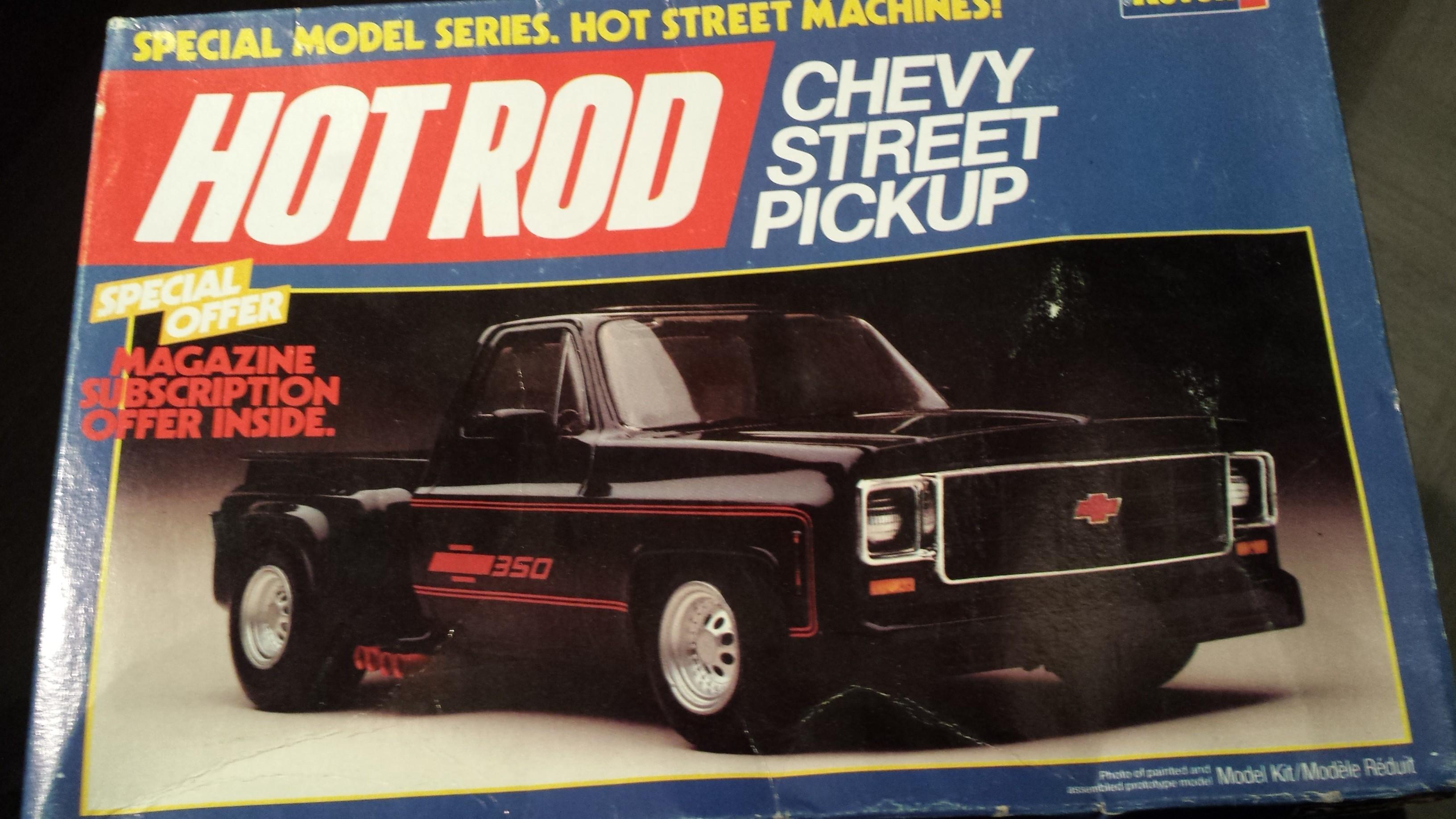 chevy 350 V8 street pick-up Dhxn