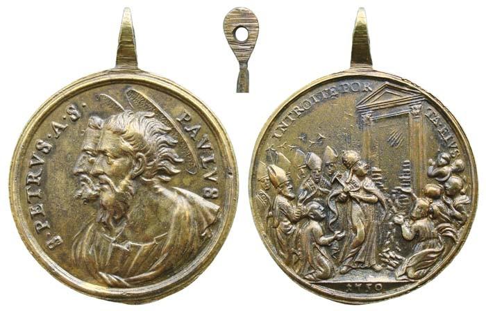 Jubileo Romano de 1750 - MR(395) (RM.SXVIII-C86) C5x6