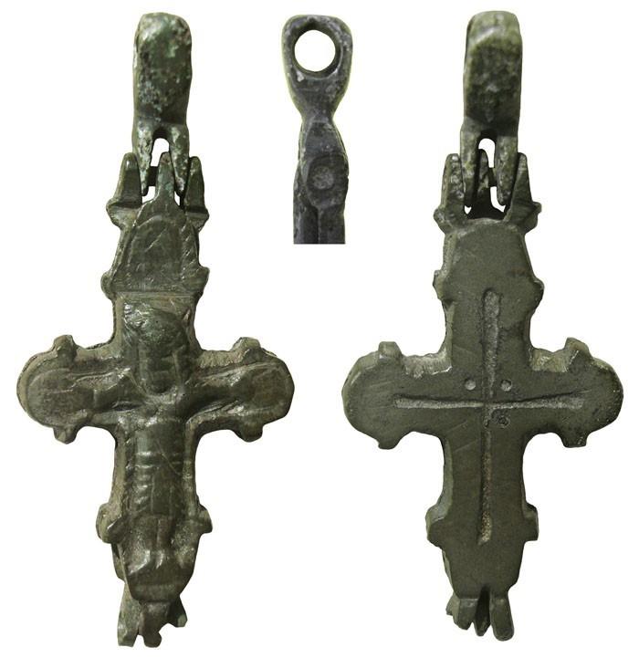 Enkolpio bizantino pectoral S-XI - CC(036)* C3AfLS