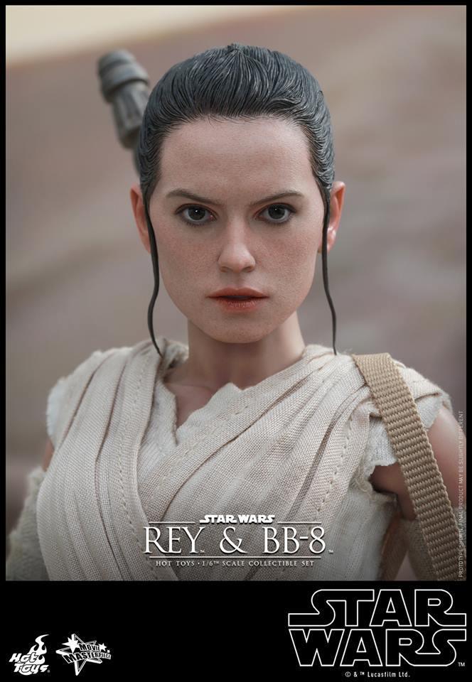 HOT TOYS-Star Wars TFA-Rey & BB8 Set YbGsPj
