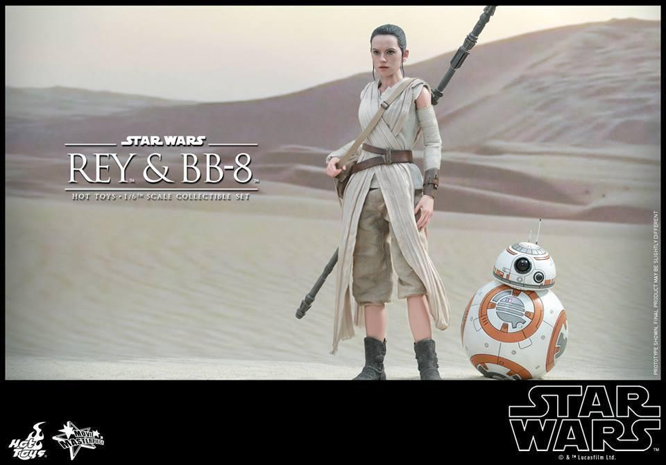 HOT TOYS-Star Wars TFA-Rey & BB8 Set BJl9vU