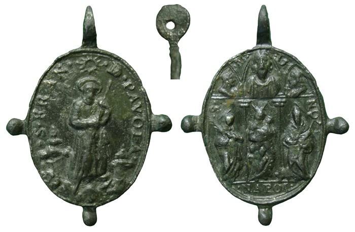 Médaille St-François-de-Paule - XVIIème E37DdR