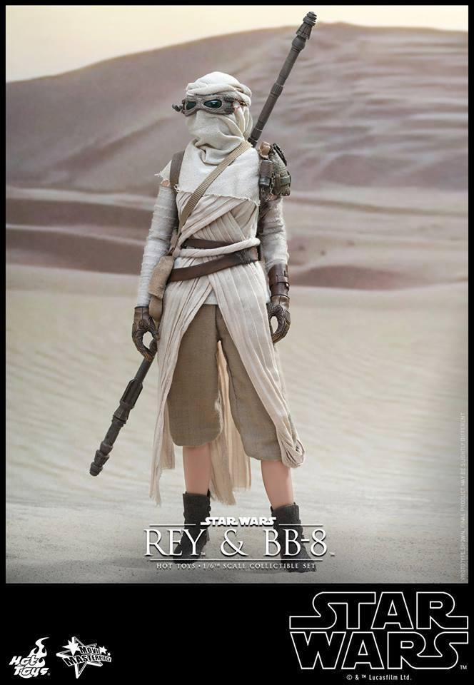 HOT TOYS-Star Wars TFA-Rey & BB8 Set IFCWhJ
