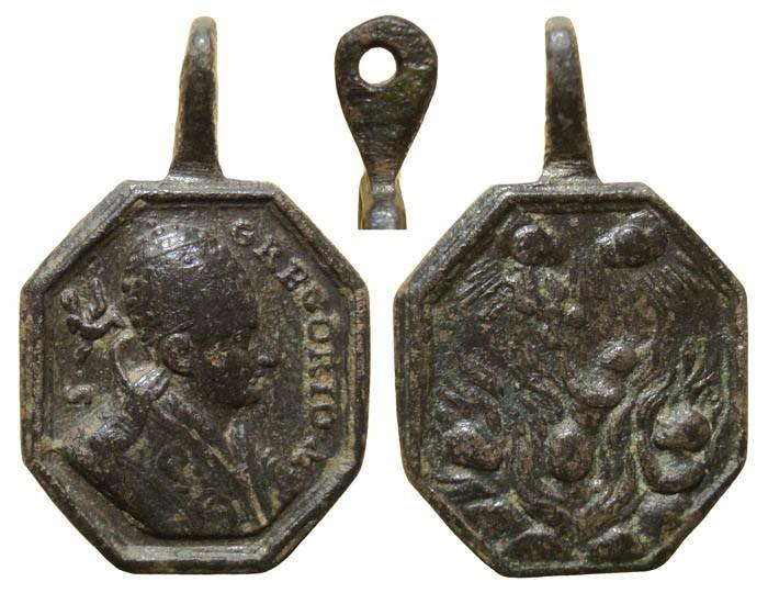 San Gregorio Magno / Almas en el Purgatorio – MR(074) RmyMTg