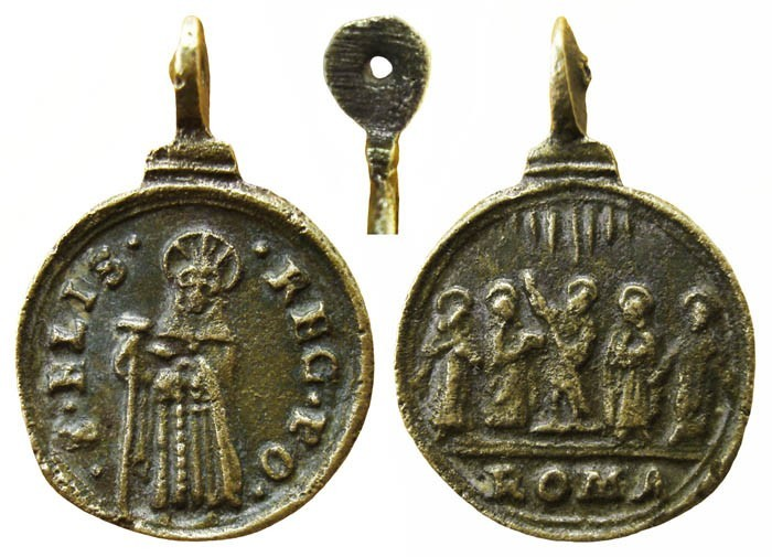 Santa Isabel de Portugal / Cinco santos – MR(026) (R.M. SXVII-C24) 1RBE7g