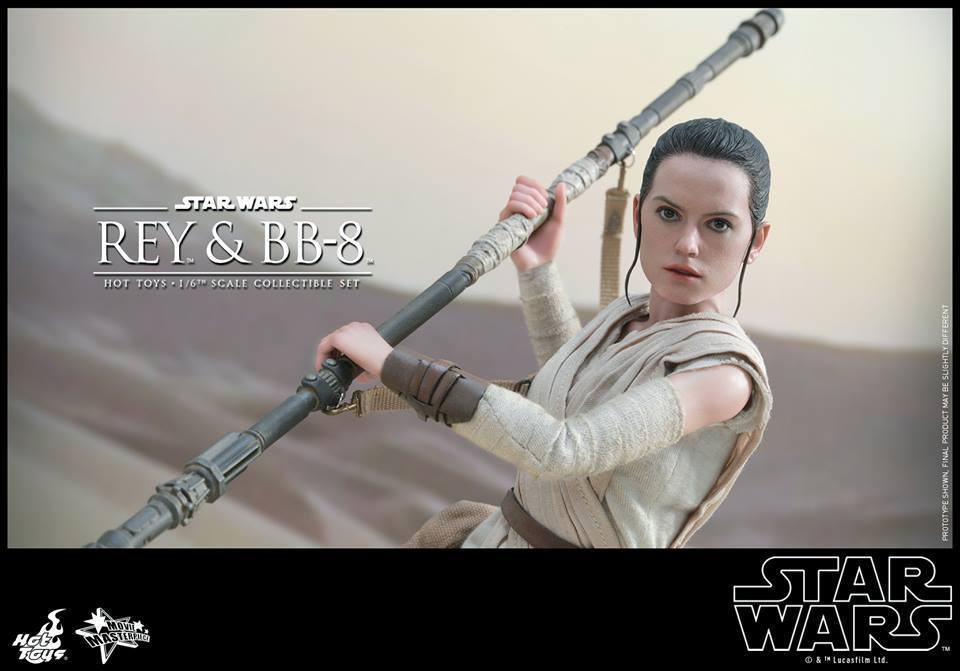 HOT TOYS-Star Wars TFA-Rey & BB8 Set 9nFI5z