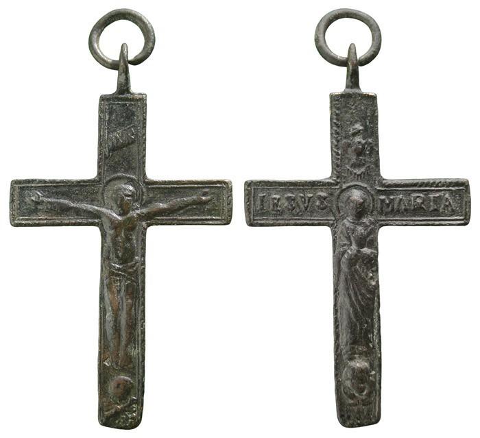 Crucifijo de rosario bifaz - CC093 Cp0SLO
