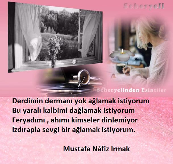 Derdimin Dermanı Yok / Mustafa Nâfiz Irmak  LsxXnC