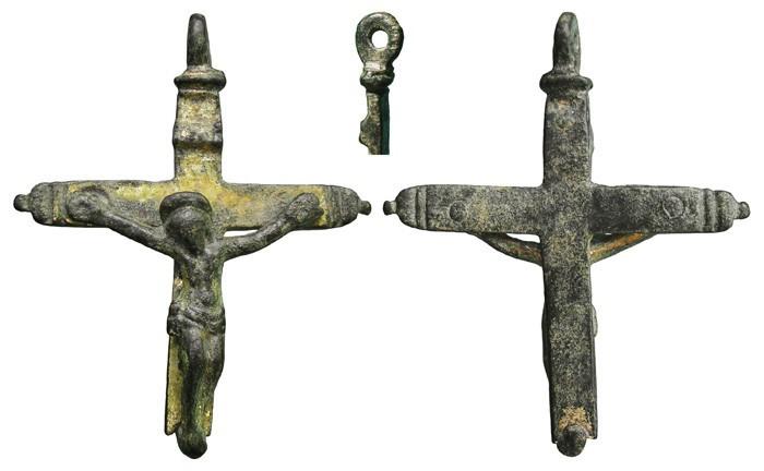 Crucifijo pectoral (fragmento II) - CC-056 LFXFmE