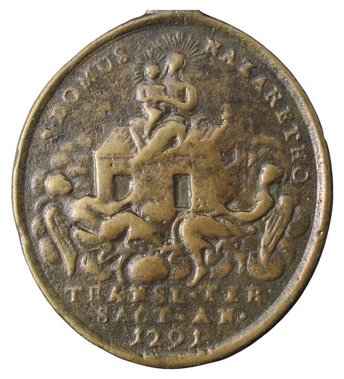 Medalla Virgen de Trsat / Virgen de Loreto - MR(438) (R.M. SXVIII-O270) OoORw7