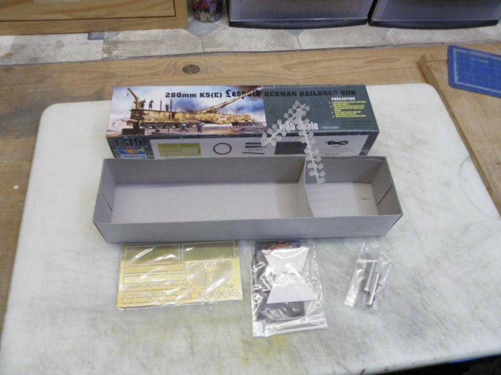 Diorama K5 E LEOPOLD 280mm + BR86 + WR360 1/35 [19-04-16- FINI] V5E3XR