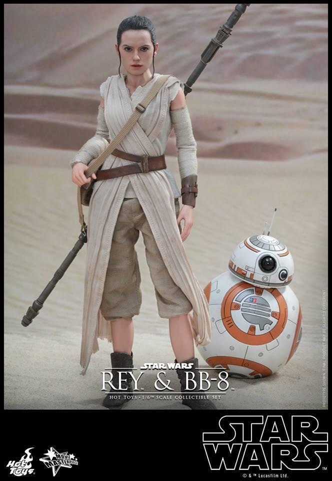 HOT TOYS-Star Wars TFA-Rey & BB8 Set 0LPKS1