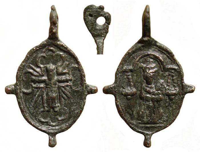 Medalla Virgen de Loreto / Cristo de Sirolo – MR(N067) (R.M. Pe Sirolo 11) AjJsYJ