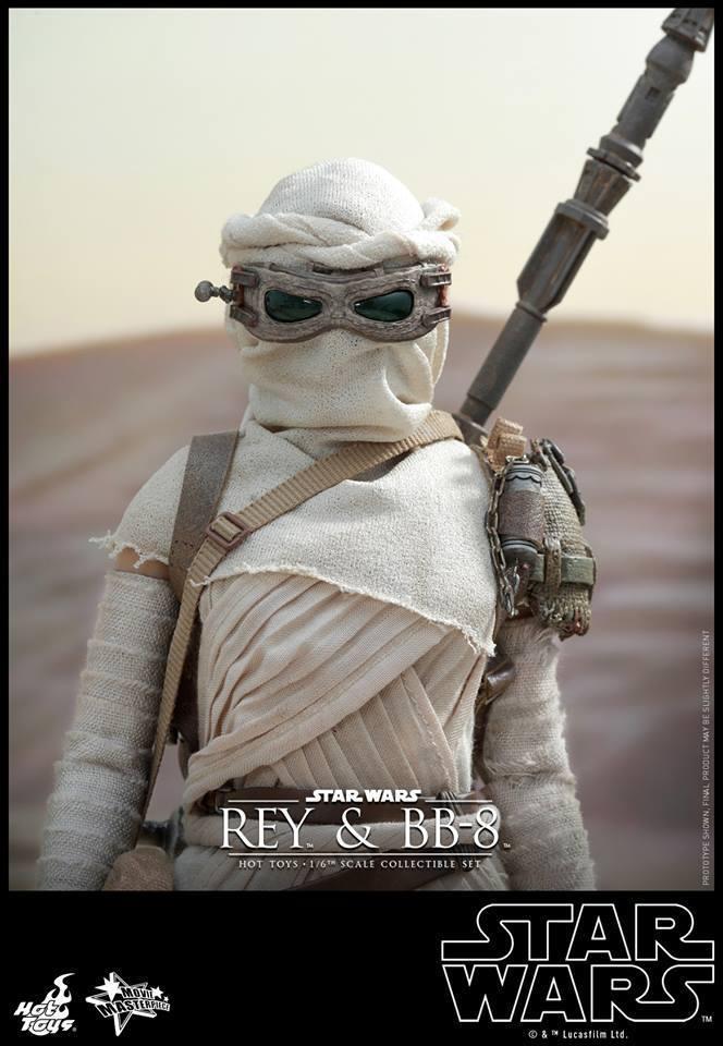 HOT TOYS-Star Wars TFA-Rey & BB8 Set W5MP4i