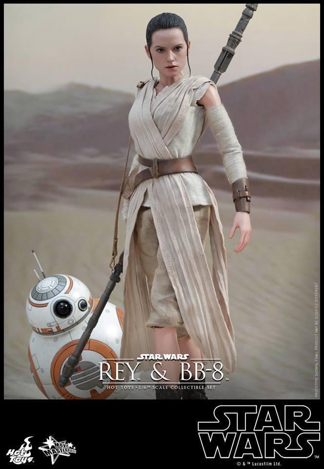 HOT TOYS-Star Wars TFA-Rey & BB8 Set WPptIH