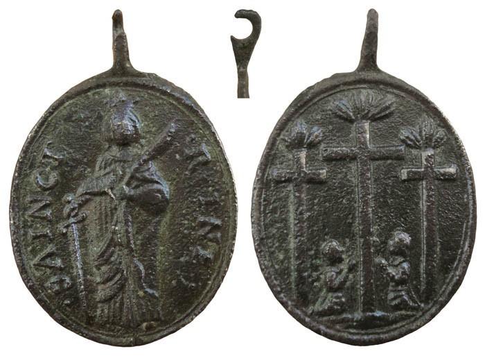 Santa Regina  de Alise / Los tres Ormeaux   - MR(088) FlbiRg