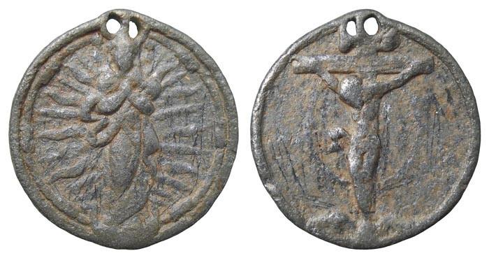 Inmaculada Concepción / Jesucristo crucificado - MR(474) (R.M. SXVI-C16) Nh4QC1