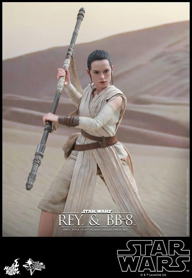 HOT TOYS-Star Wars TFA-Rey & BB8 Set GmzqcN
