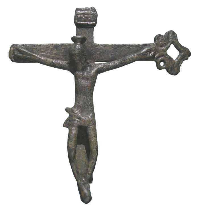 Crucifijo pectoral (fragmento)  CC-028 Rd8Xb9