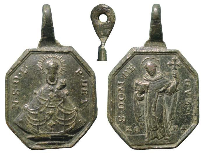 Proyecto recopilación medallas Santo Domingo de Guzmán  5edf37