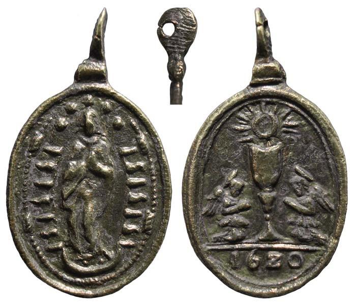 Inmaculada Concepción / Caliz Eucarístico (1620) ( R.M. SXVII-O43-b) - MR(176) KvHvyt